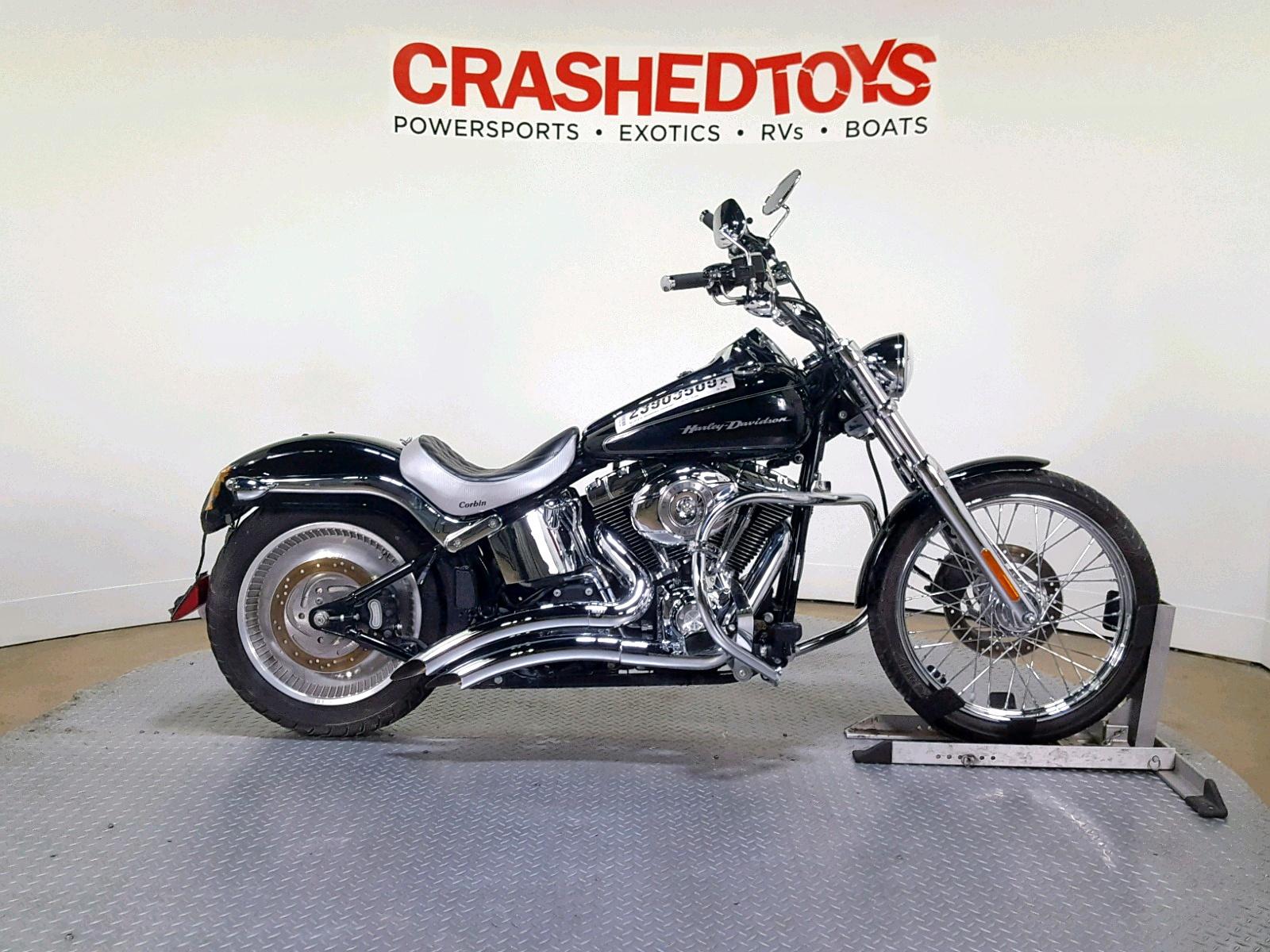 Salvage 2007 Harley-Davidson FXSTD for sale