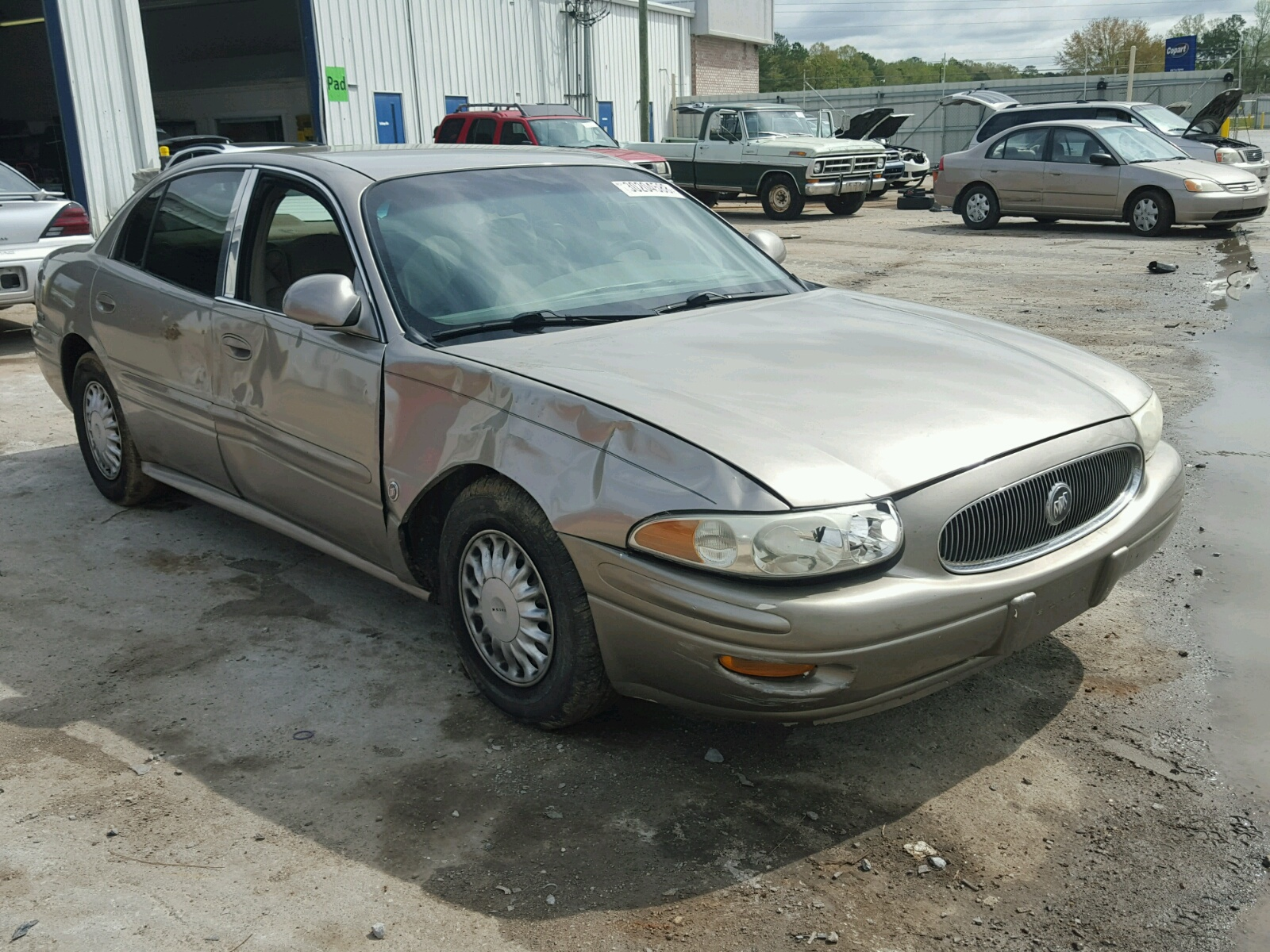 lesabre cert title of mi left carfinder vehicle silver buick lot online auctions copart view cu in lansing sale on salvage for auto en