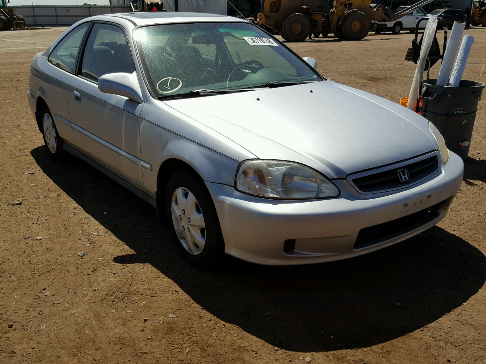 1999 Honda Civic Ex 16l 4 In Co Denver 1hgej8243xl012168 For Left View