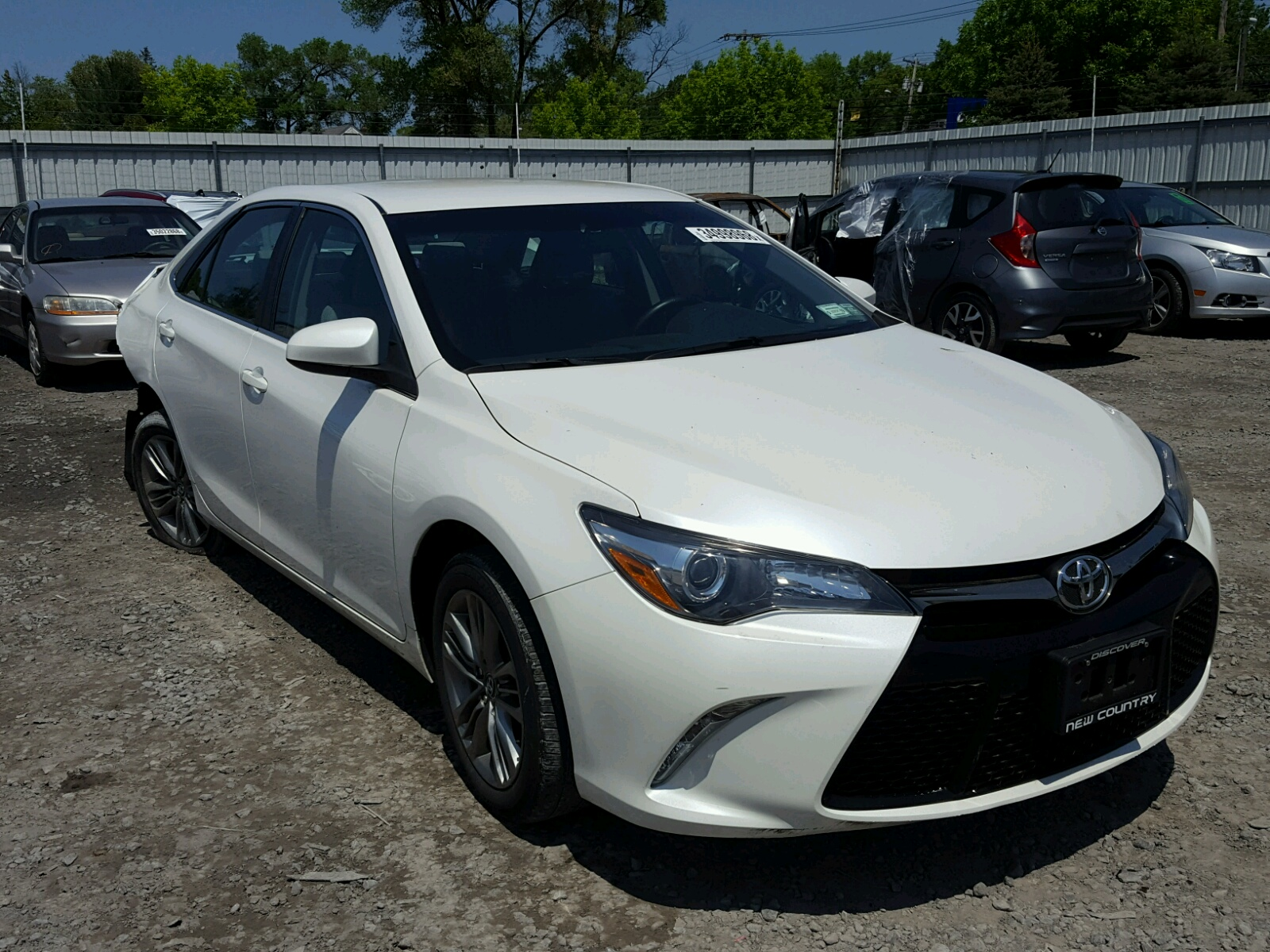 2016 Toyota Camry LE for sale at Copart Albany NY Lot