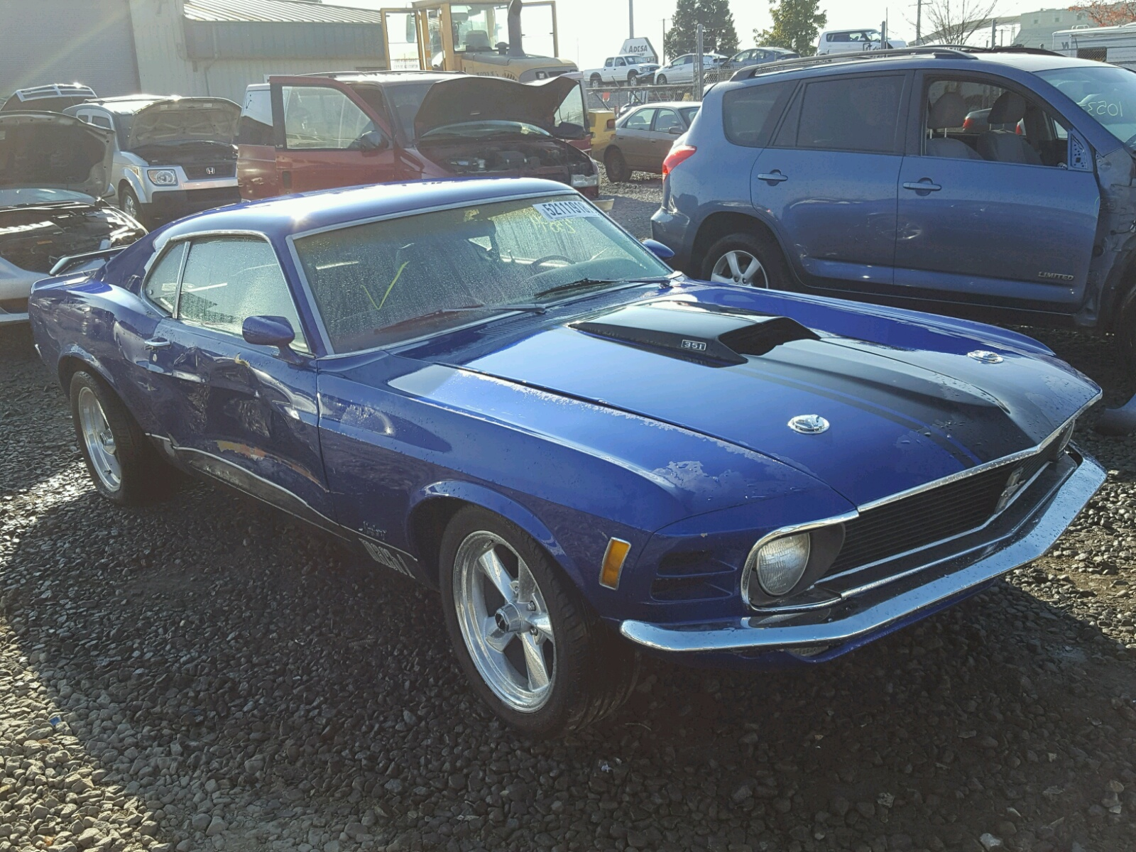 0f02f206203 1970 ford mustang left view