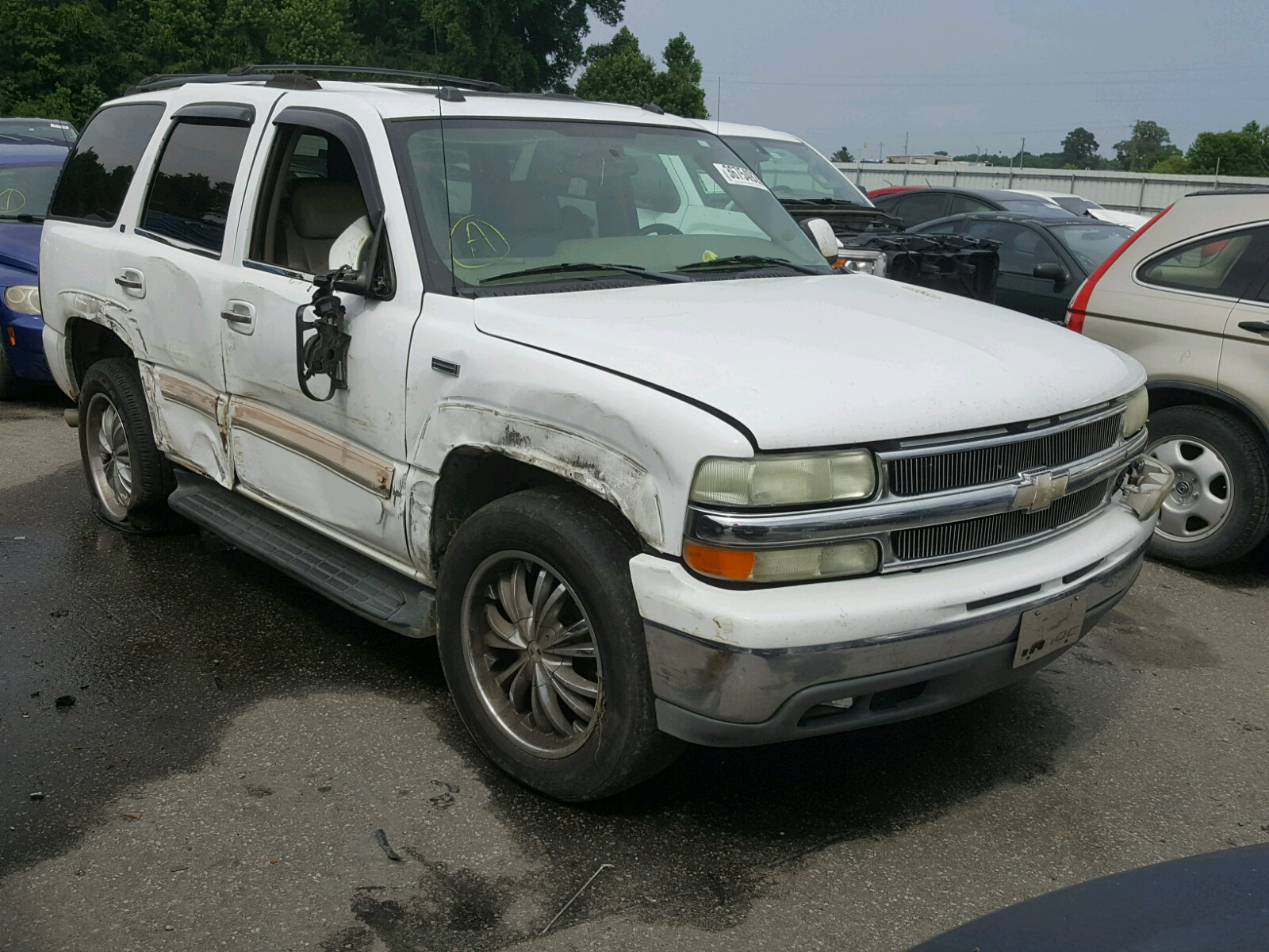 Salvage 2004 Chevrolet TAHOE C150 for sale