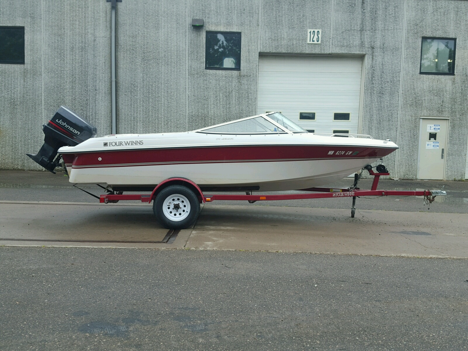 Salvage 1996 Four Winds HORIZON for sale