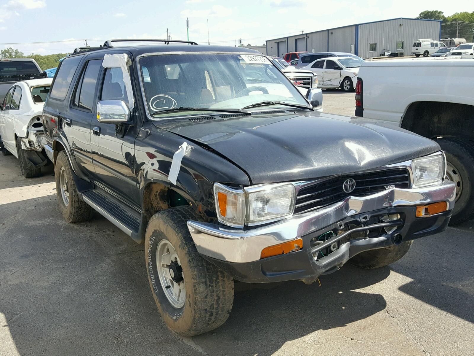 Jt3vn39w0r0153737 1994 Black Toyota 4runner Vn On Sale In Ar 1984 1989 30l Left View