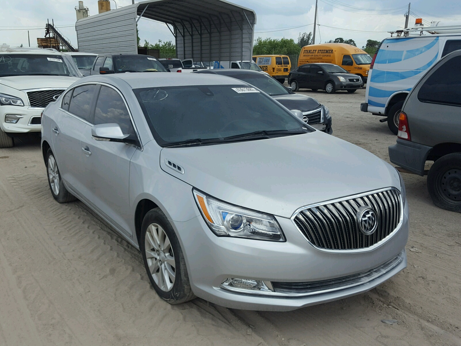 Auto Auction Ended on VIN 1G4HP54K0Y 2000 BUICK LESABRE CU