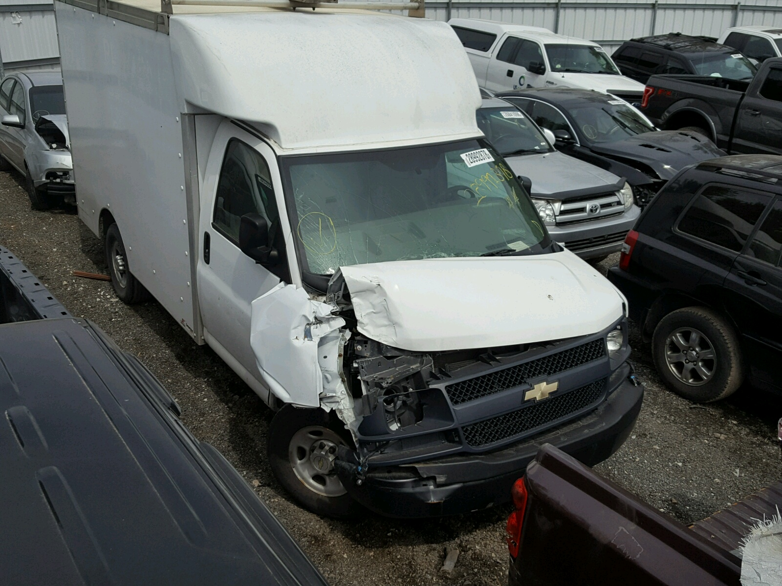 Auto Auction Ended on VIN 1GB0G2CA2E 2014 CHEVROLET EXPRESS