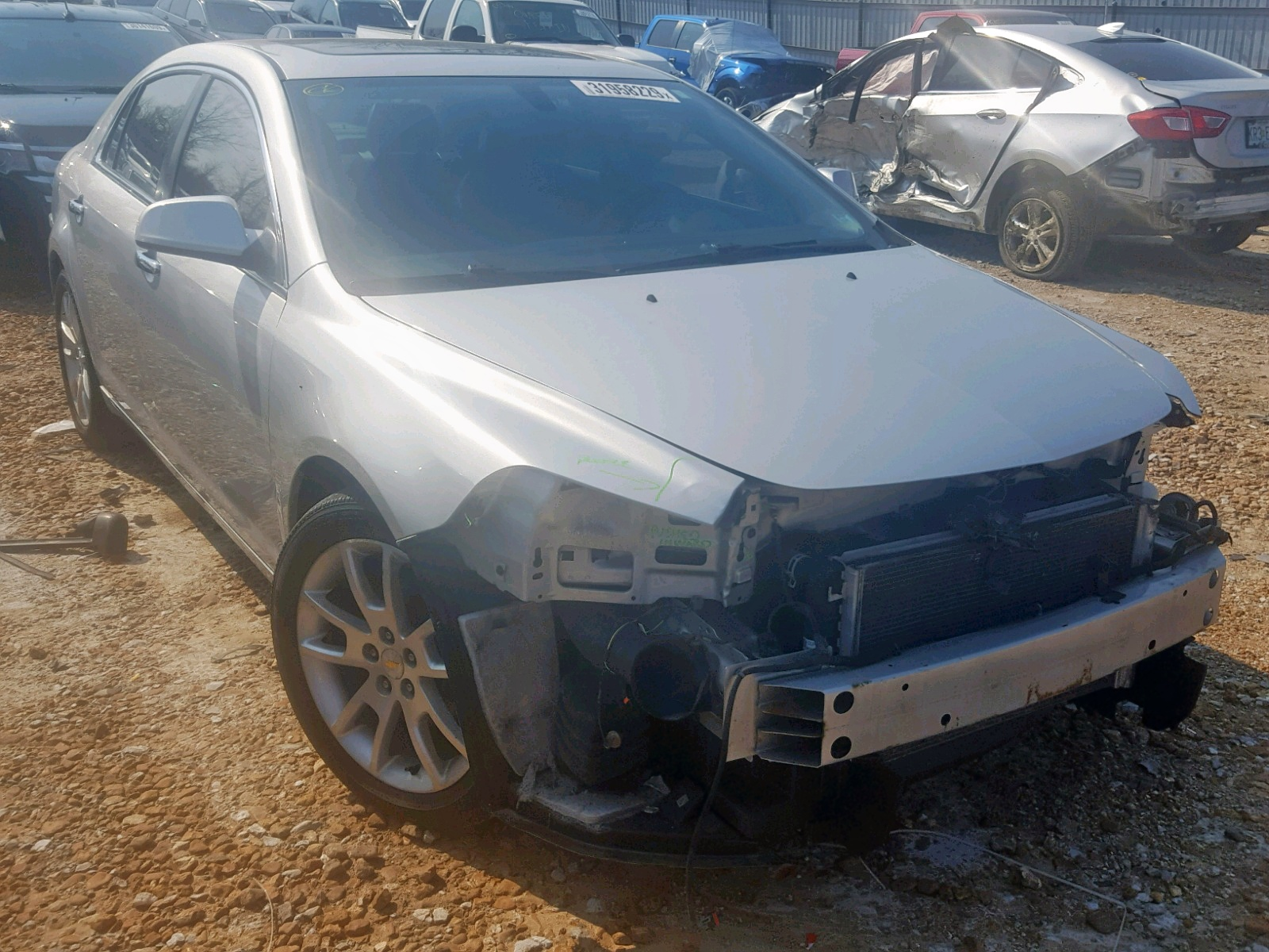 Salvage 2011 Chevrolet MALIBU LTZ for sale
