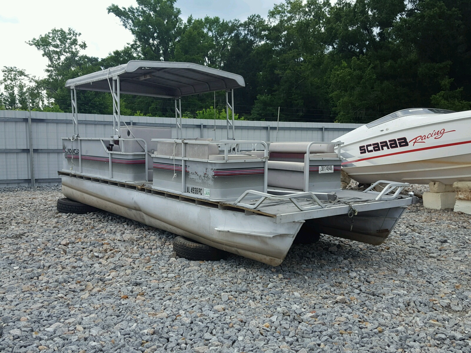Salvage 1988 Sunp BOAT for sale
