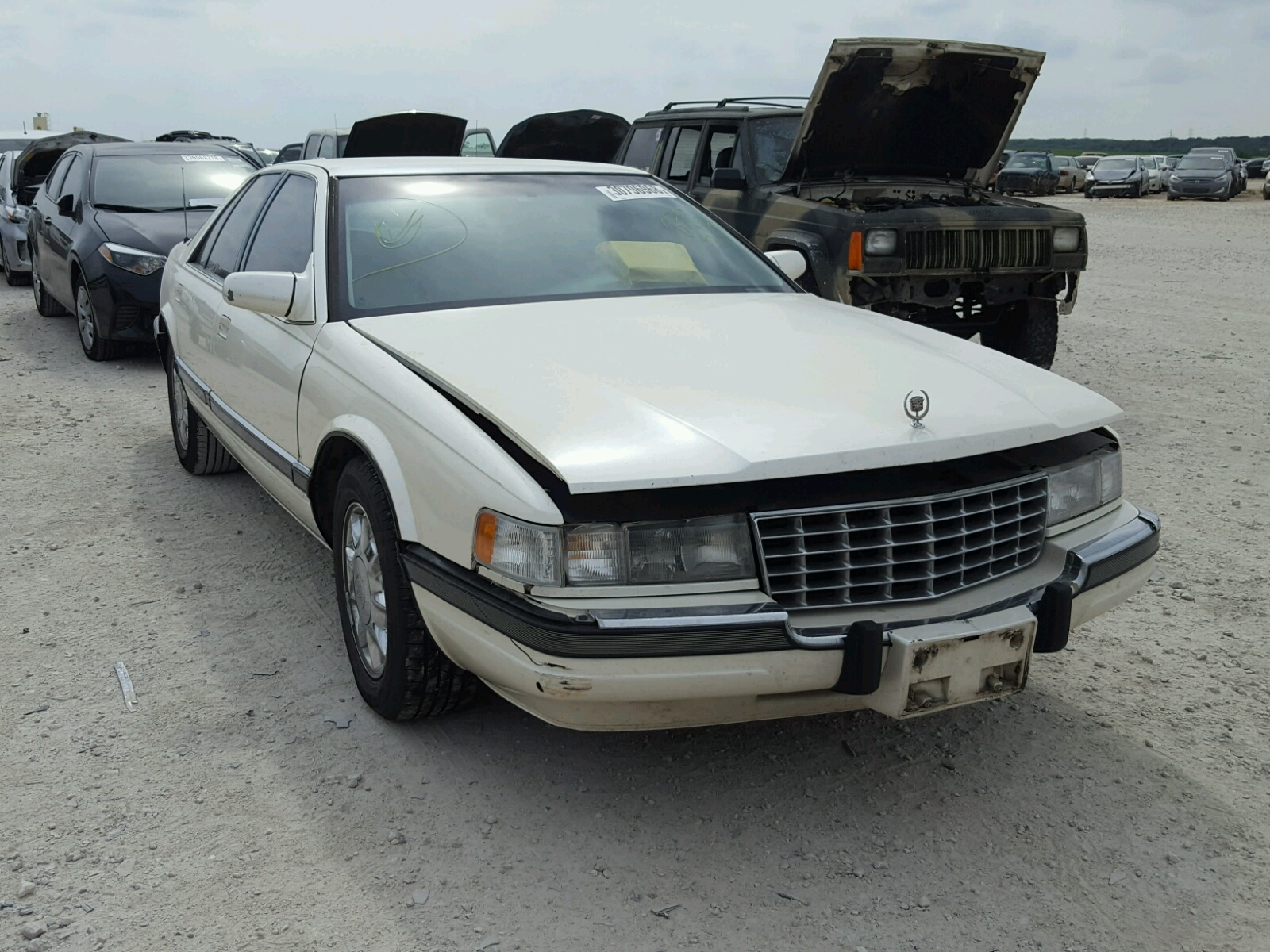 Copart Home Page >> 1G6KS52Y6VU835512 | 1997 WHITE CADILLAC SEVILLE SL on Sale in TX - AUSTIN | Lot 30796968