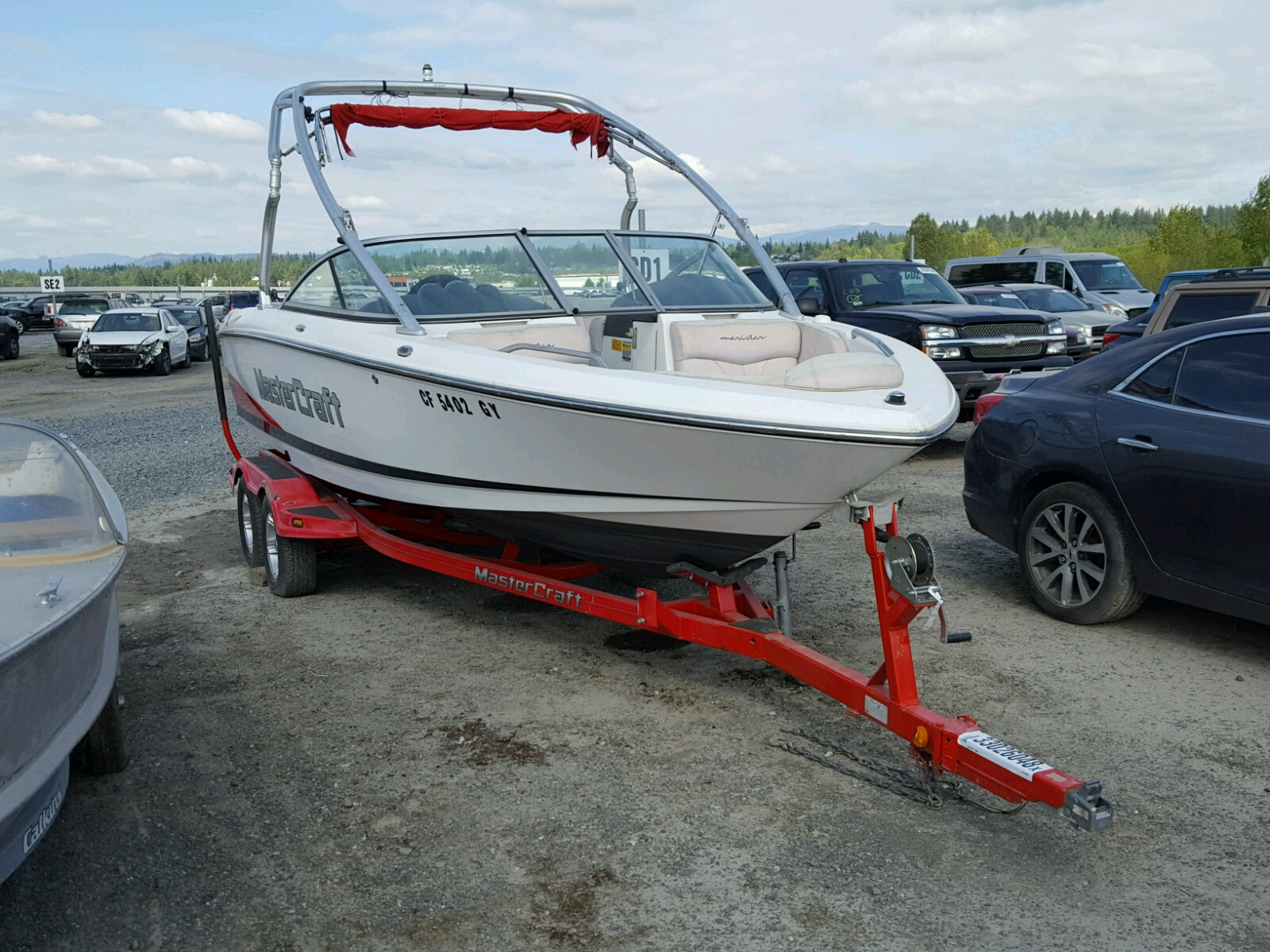 Salvage 2006 Mastercraft BOAT for sale