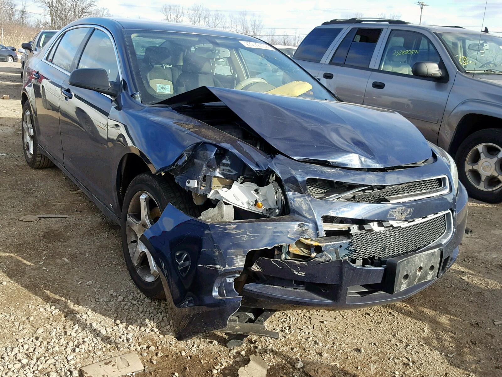 Salvage 2009 Chevrolet MALIBU LS for sale