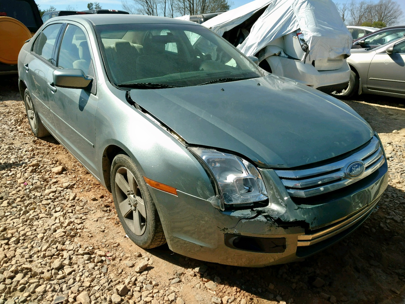 Salvage 2006 Ford FUSION SE for sale