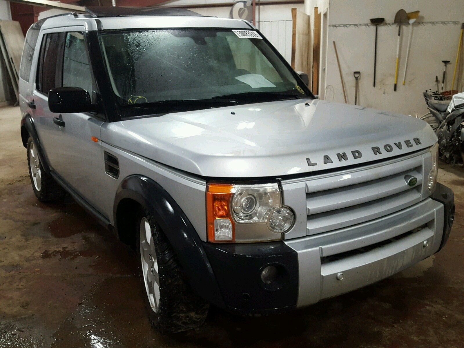 sale title auto lot for in auctions carfinder vehicle on flood en copart cert hse mi gray online landrover of lansing land se rover