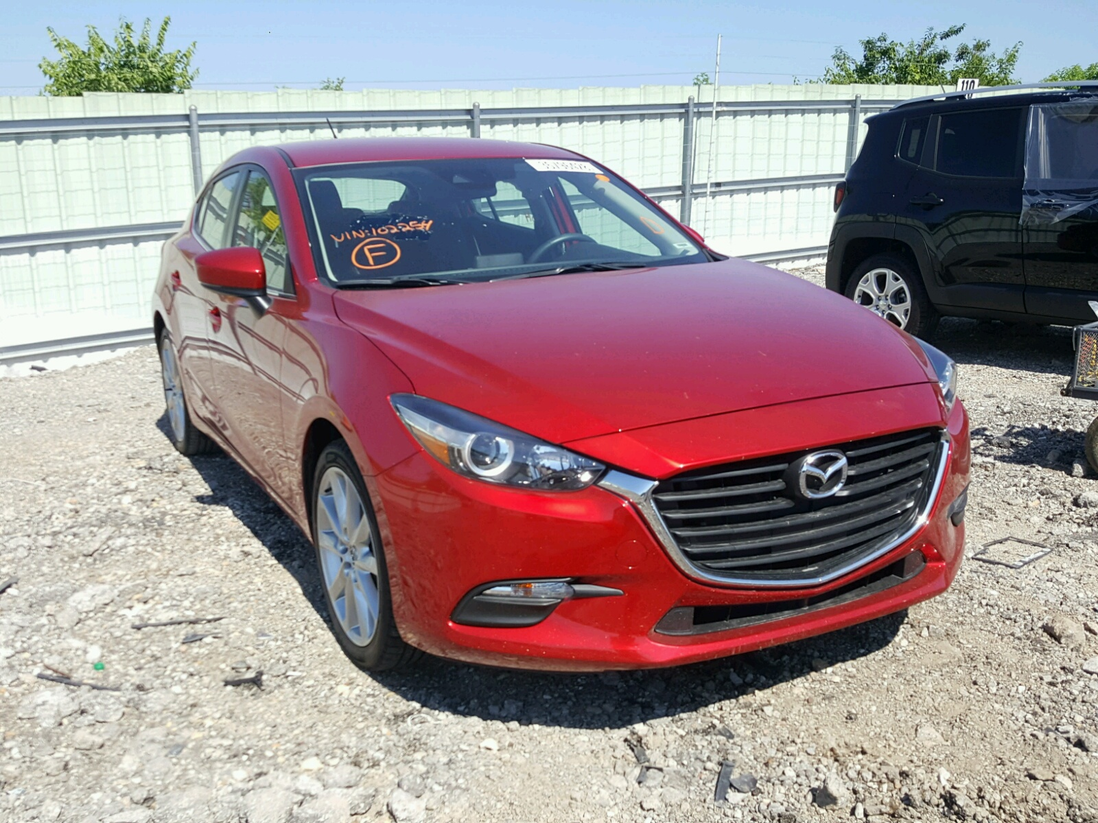 auctions auto sale in online city on right mazda i view of gray en carfinder ks kansas copart certificate title lot