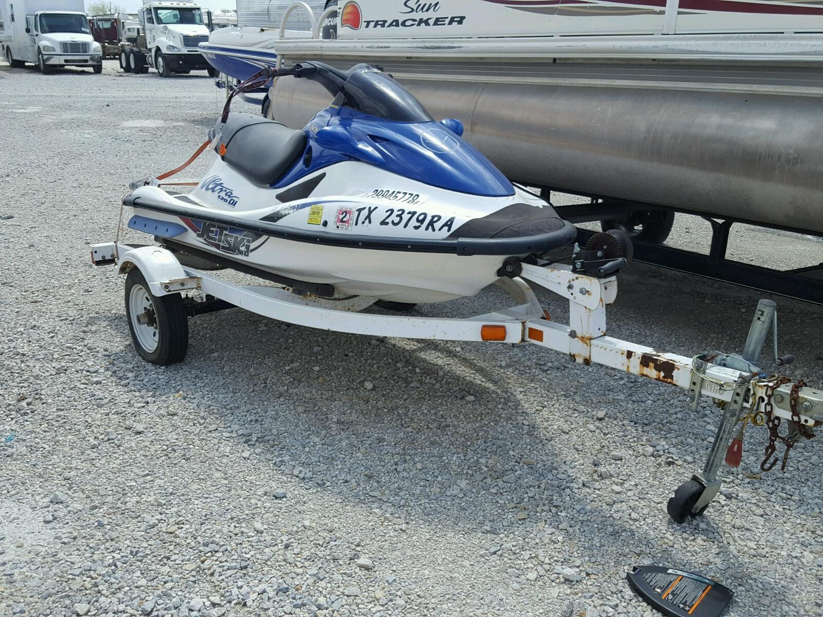 Salvage 2001 Kawasaki JETSKI for sale