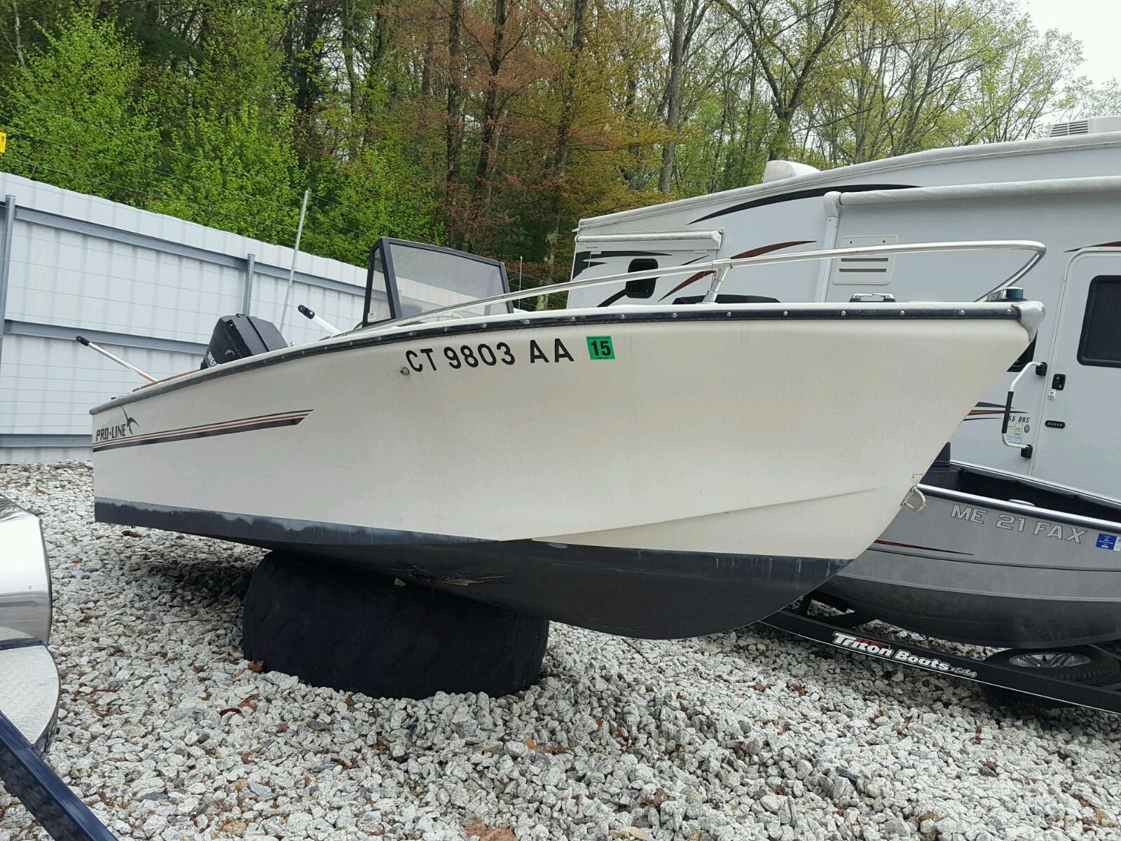Salvage 1985 Pro-Line OCEANRUNNE for sale