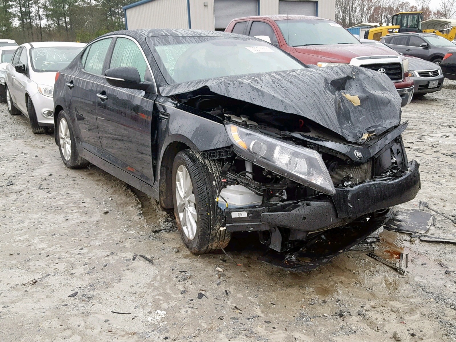 Salvage 2015 KIA OPTIMA EX for sale