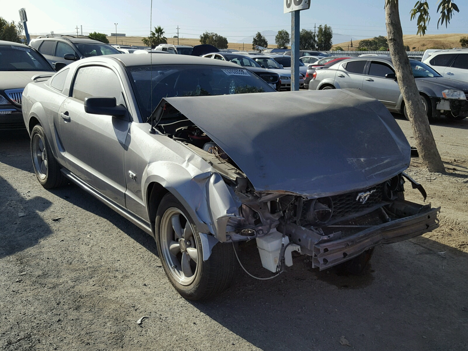 2006 Ford Mustang Gt For Sale At Copart Martinez Ca Lot 37028338