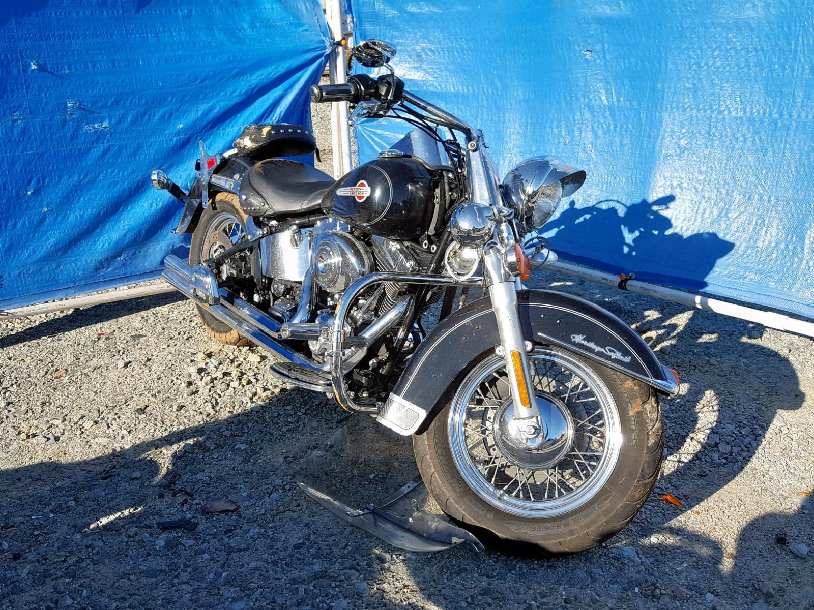 Salvage 2004 Harley-Davidson FLSTCI for sale
