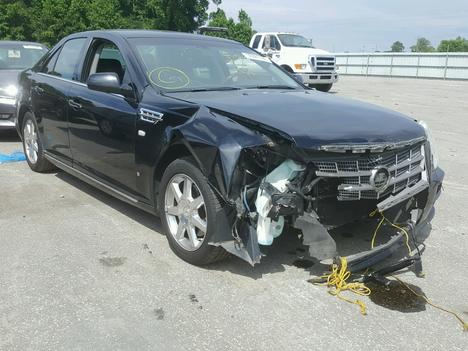 Salvage 2008 Cadillac STS for sale
