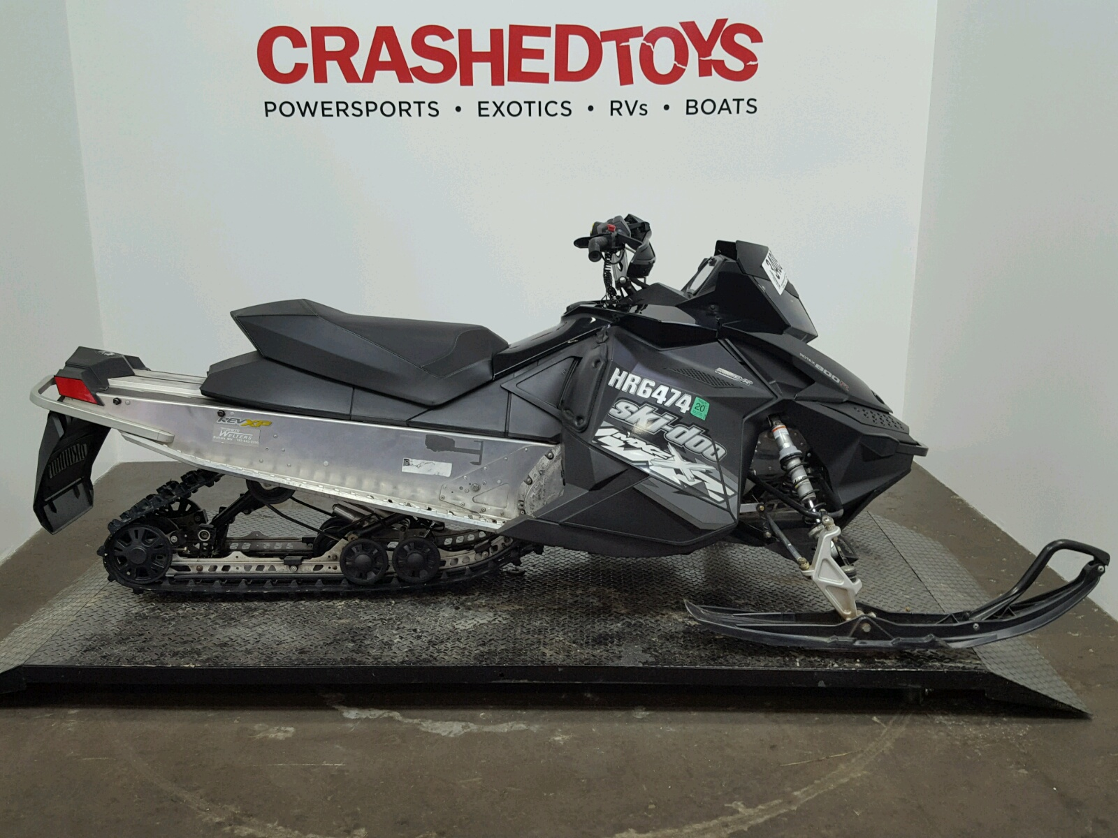 Salvage 2009 Skidoo MX Z X 800 for sale