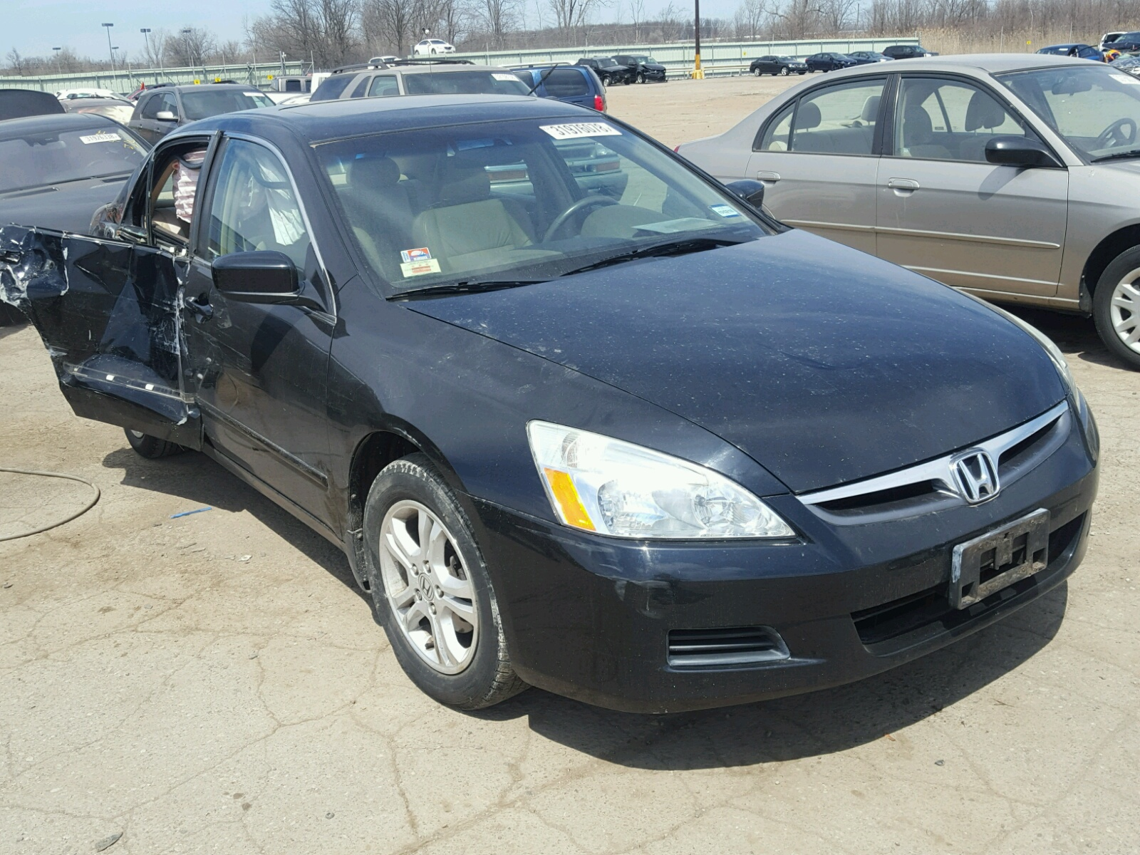 Salvage 2007 Honda ACCORD EX for sale