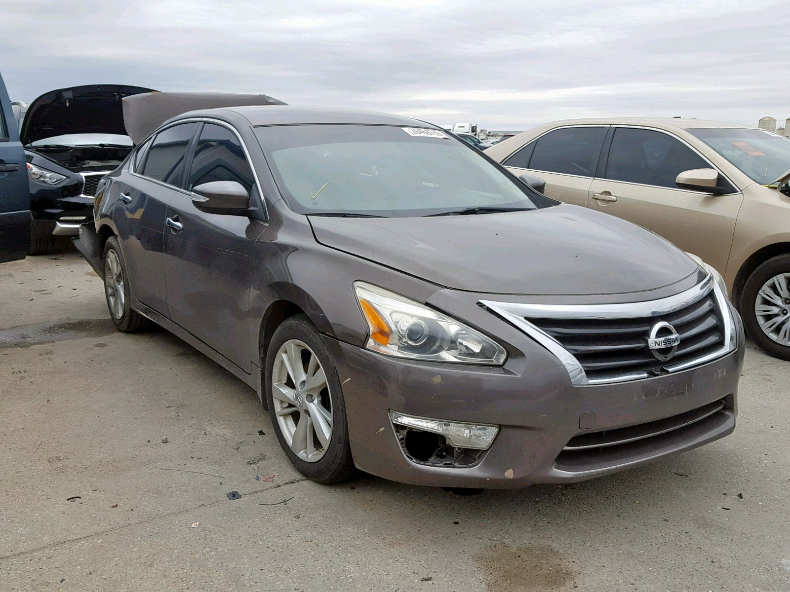 Salvage 2014 Nissan ALTIMA 2.5 for sale