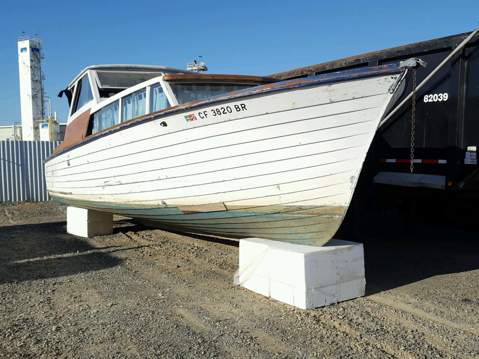 Salvage 1961 Chris Craft SEASKIFF for sale