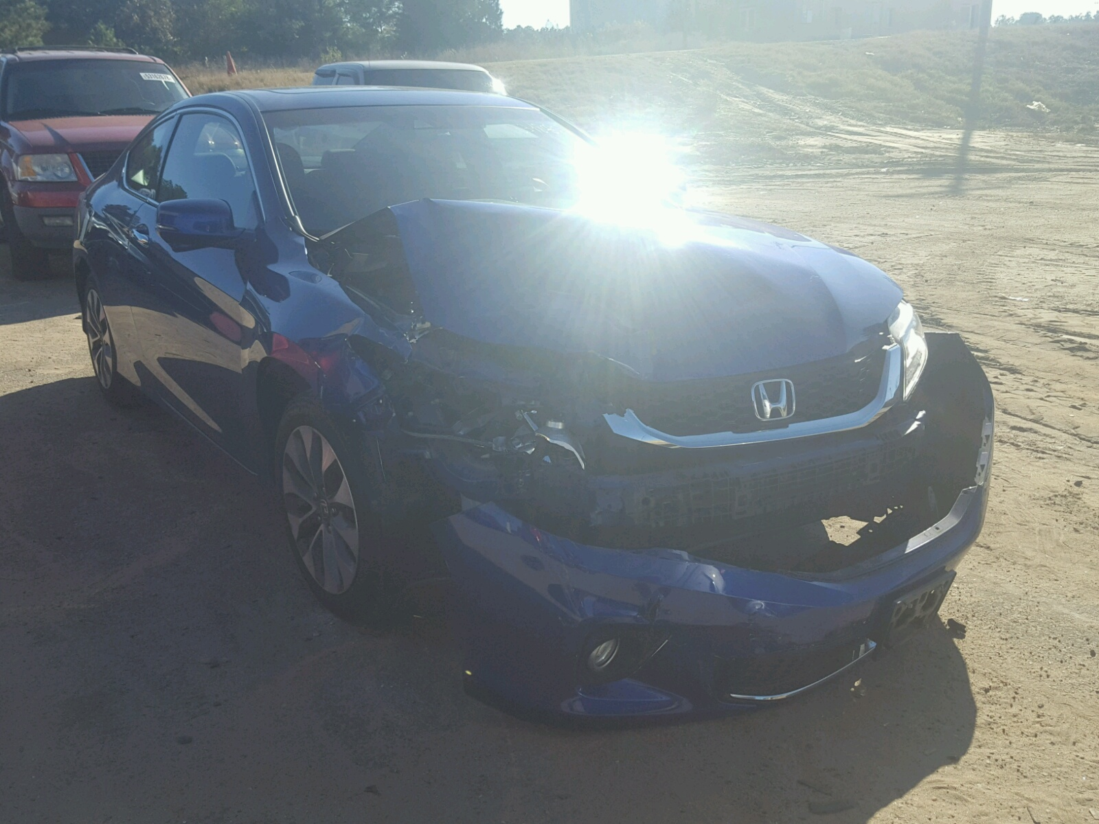 Salvage 2013 Honda ACCORD EXL for sale