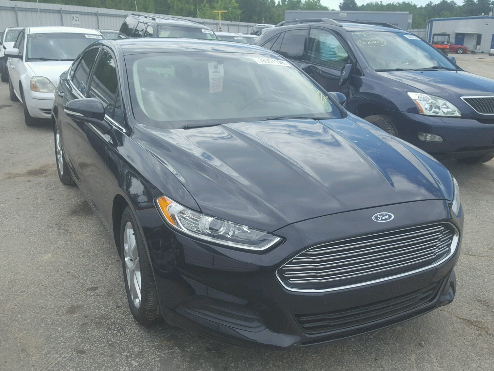 Salvage 2014 Ford FUSION SE for sale