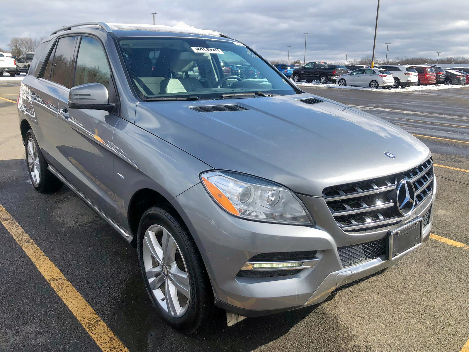 2012 Mercedes-Benz Ml 350 Blu 3.0L 6 in CT - Hartford ...