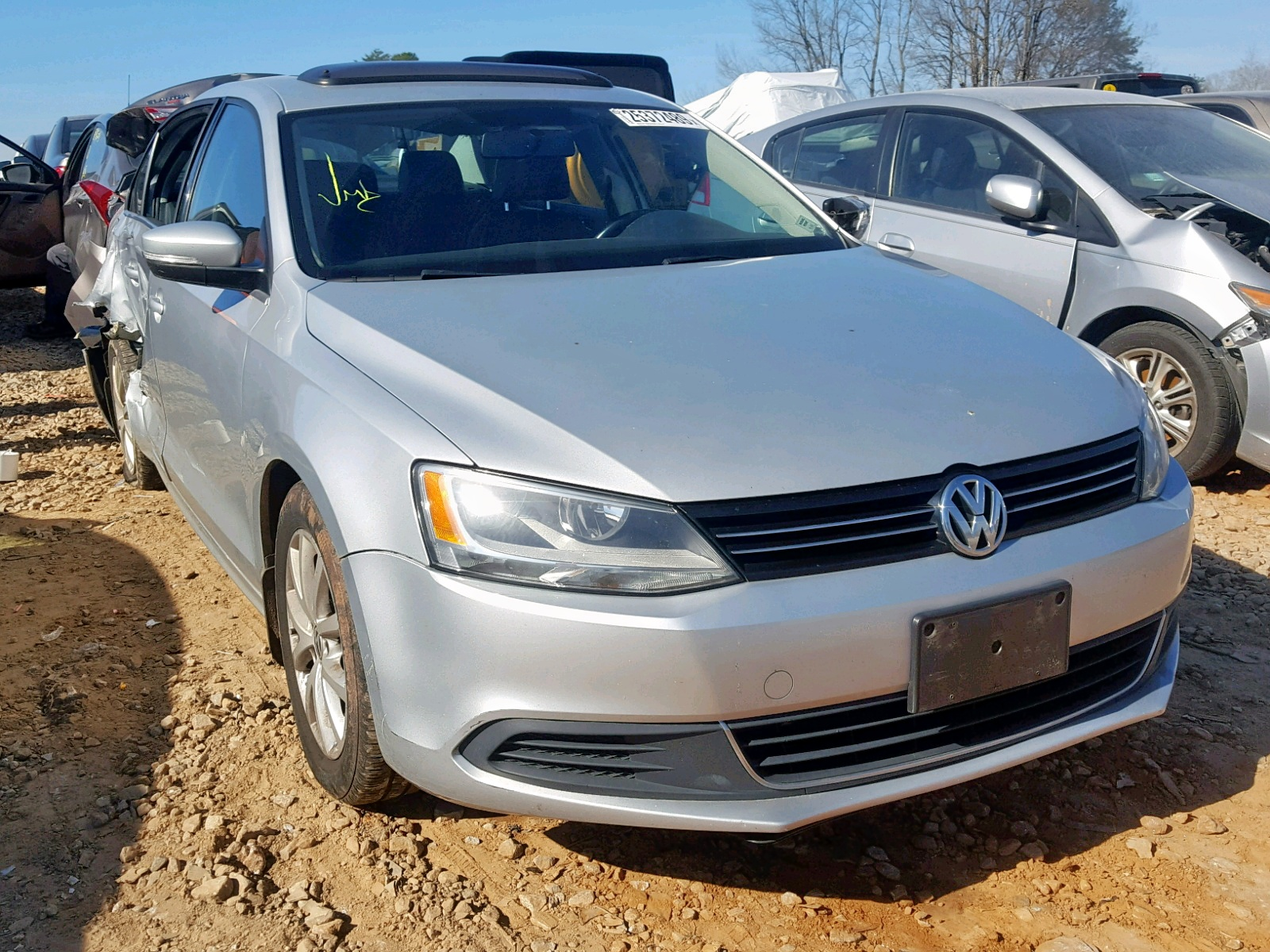 Salvage 2013 Volkswagen JETTA SE for sale