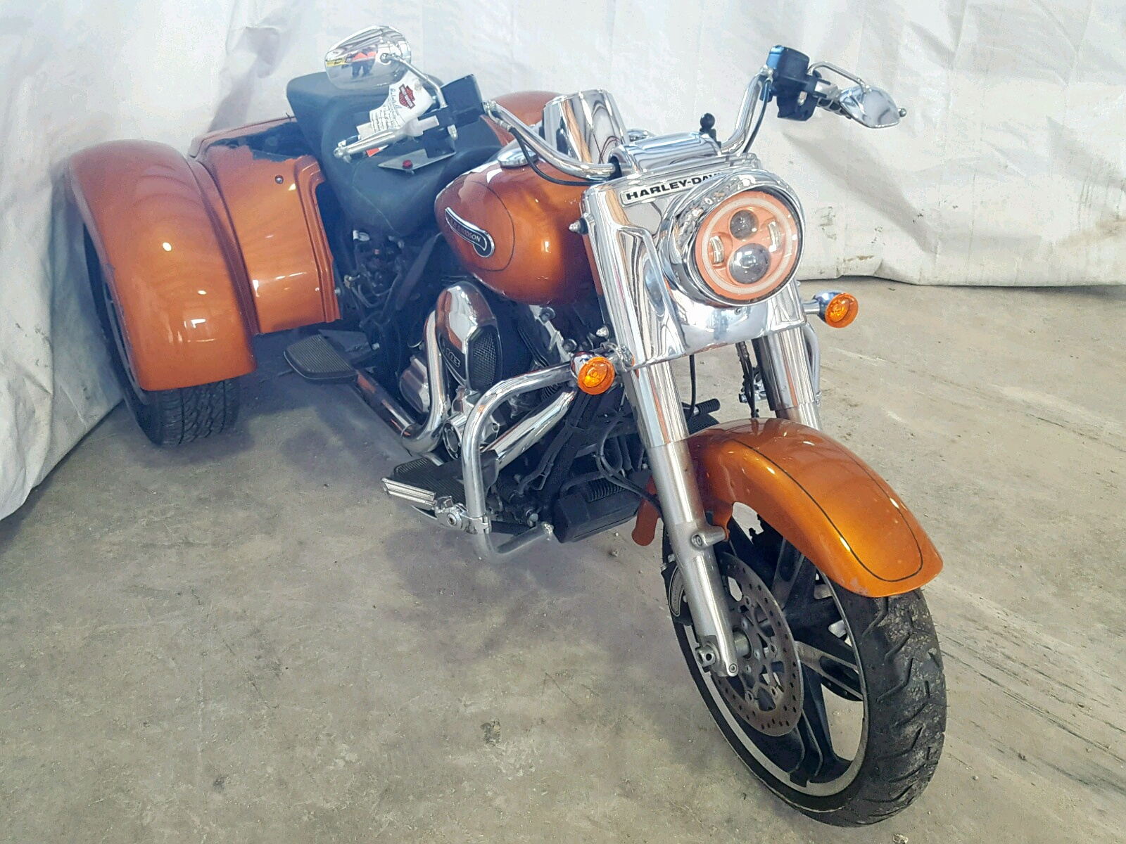 Salvage 2015 Harley-Davidson FLRT FREE for sale