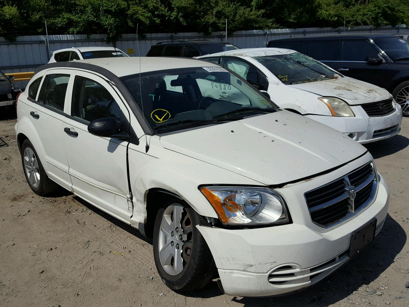 Salvage 2007 Dodge CALIBER SX for sale