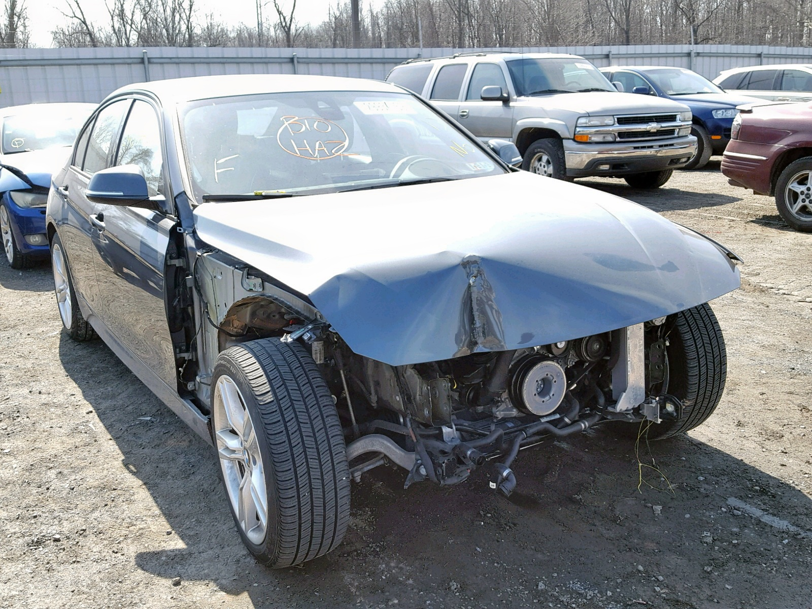 Salvage 2017 BMW 340 XI for sale