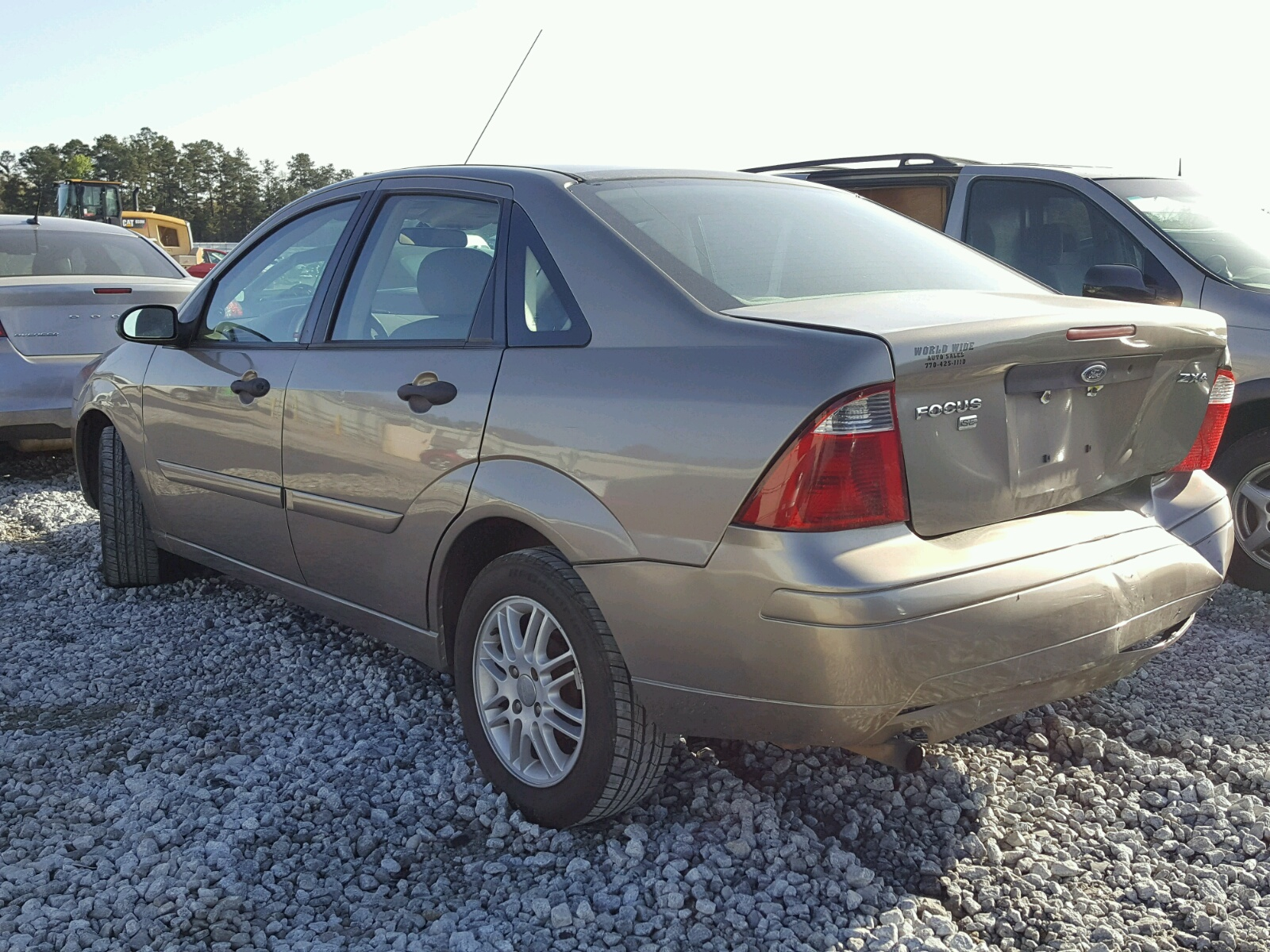 1FAFP34N45W213802 | 2005 BEIGE FORD FOCUS ZX4 on Sale in GA ...