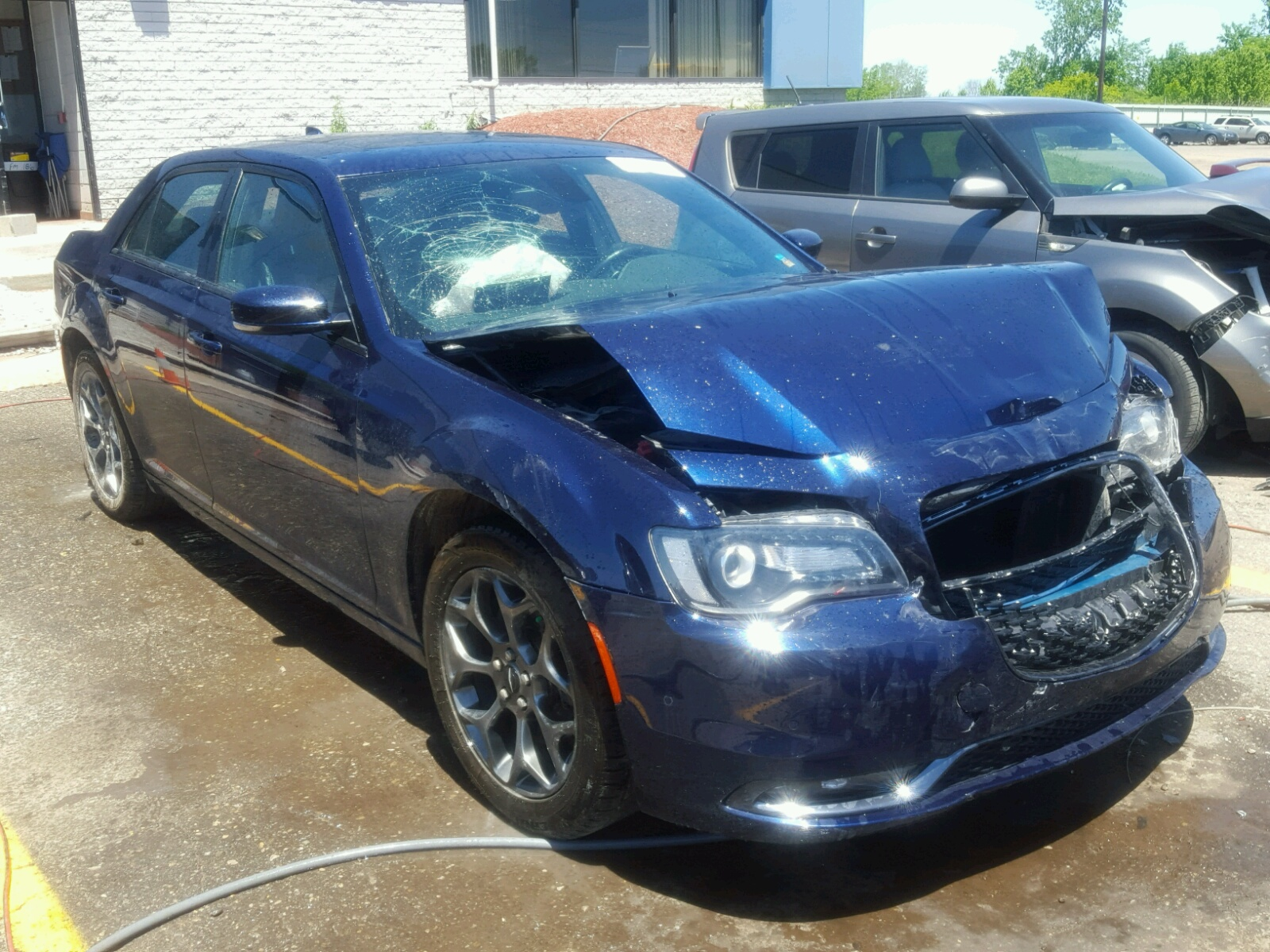 2015 Chrysler 300 S for sale at Copart Woodhaven MI Lot