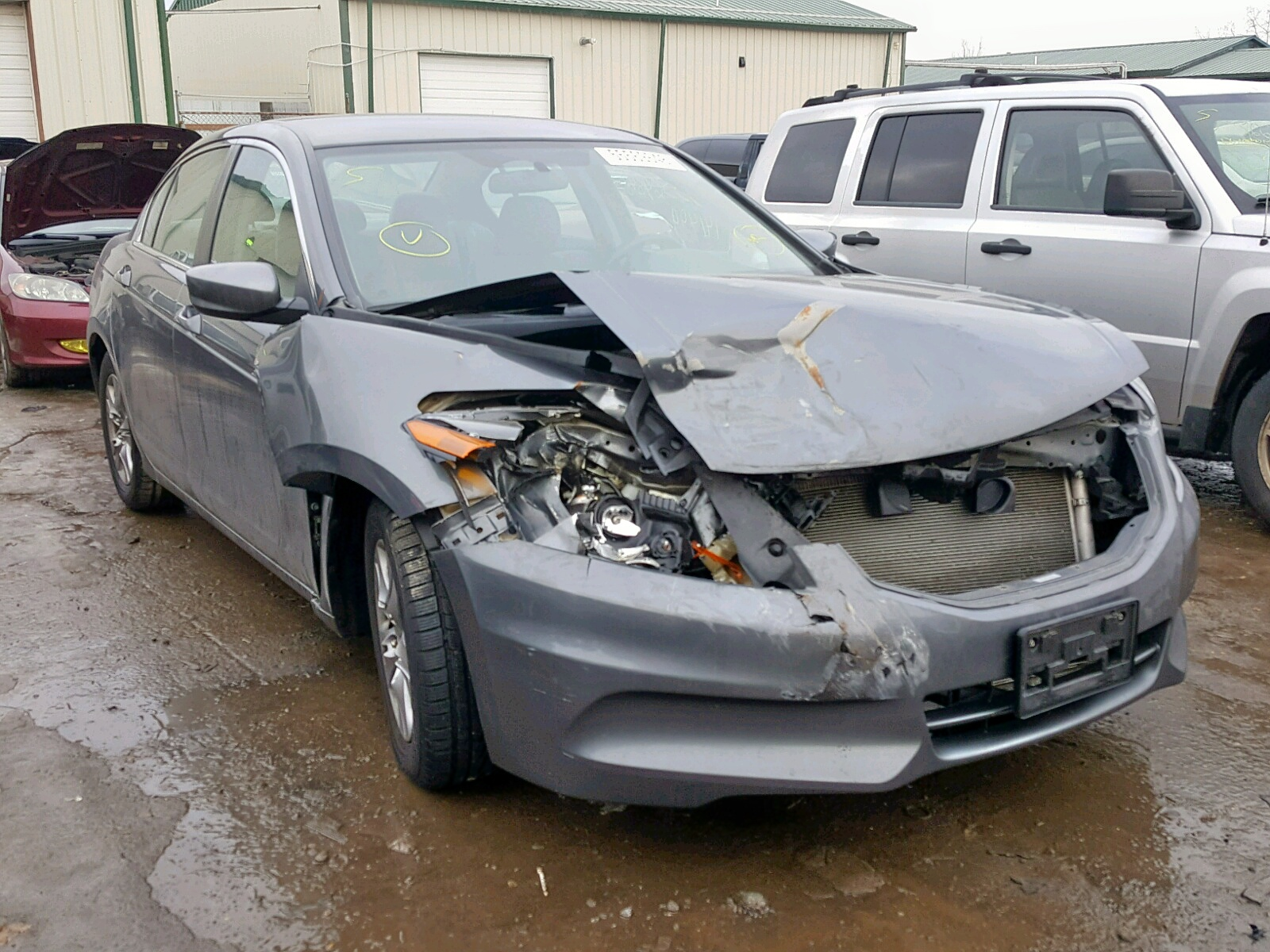 Salvage 2012 Honda ACCORD LXP for sale