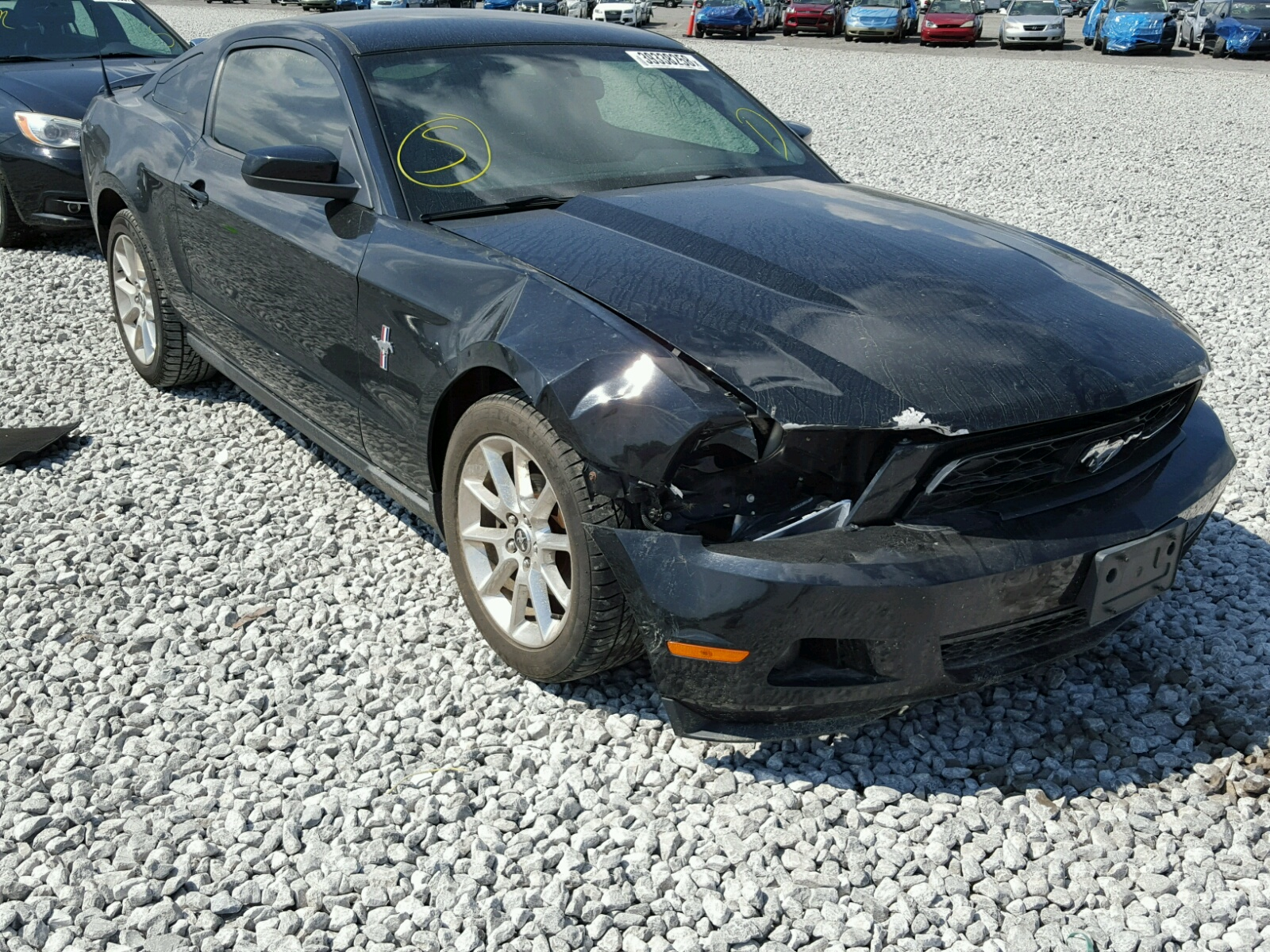 2010 Ford Mustang for sale at Copart Alorton IL Lot