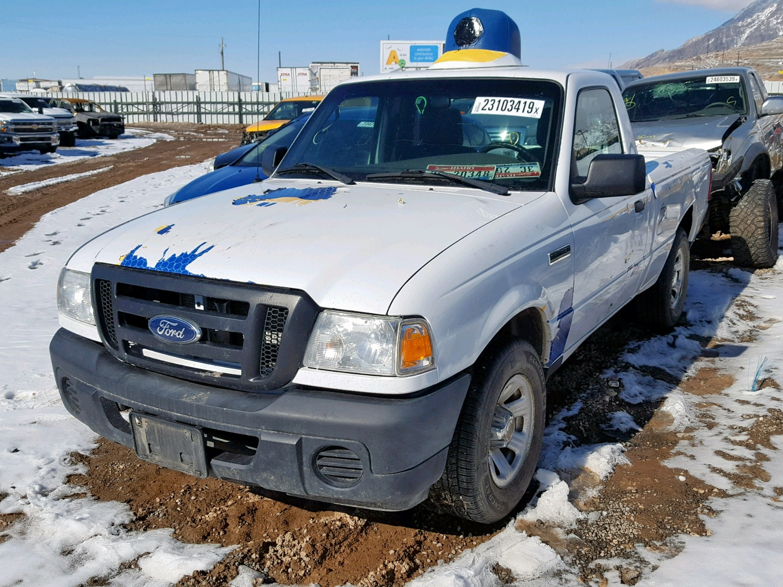 1FTKR1AD0BPA57346 - 2011 Ford Ranger 2.3L Right View