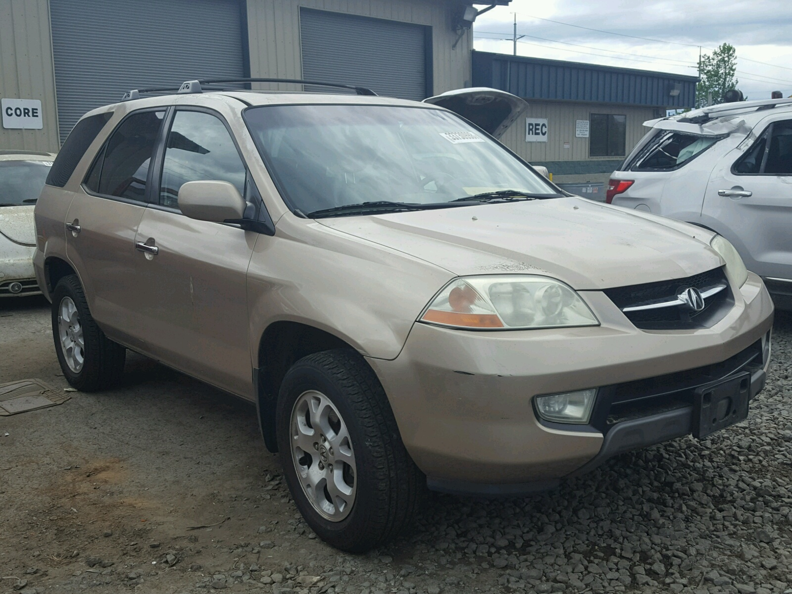 Acura MDX Touring For Sale At Copart Eugene OR Lot - Acura mdx 2001 for sale