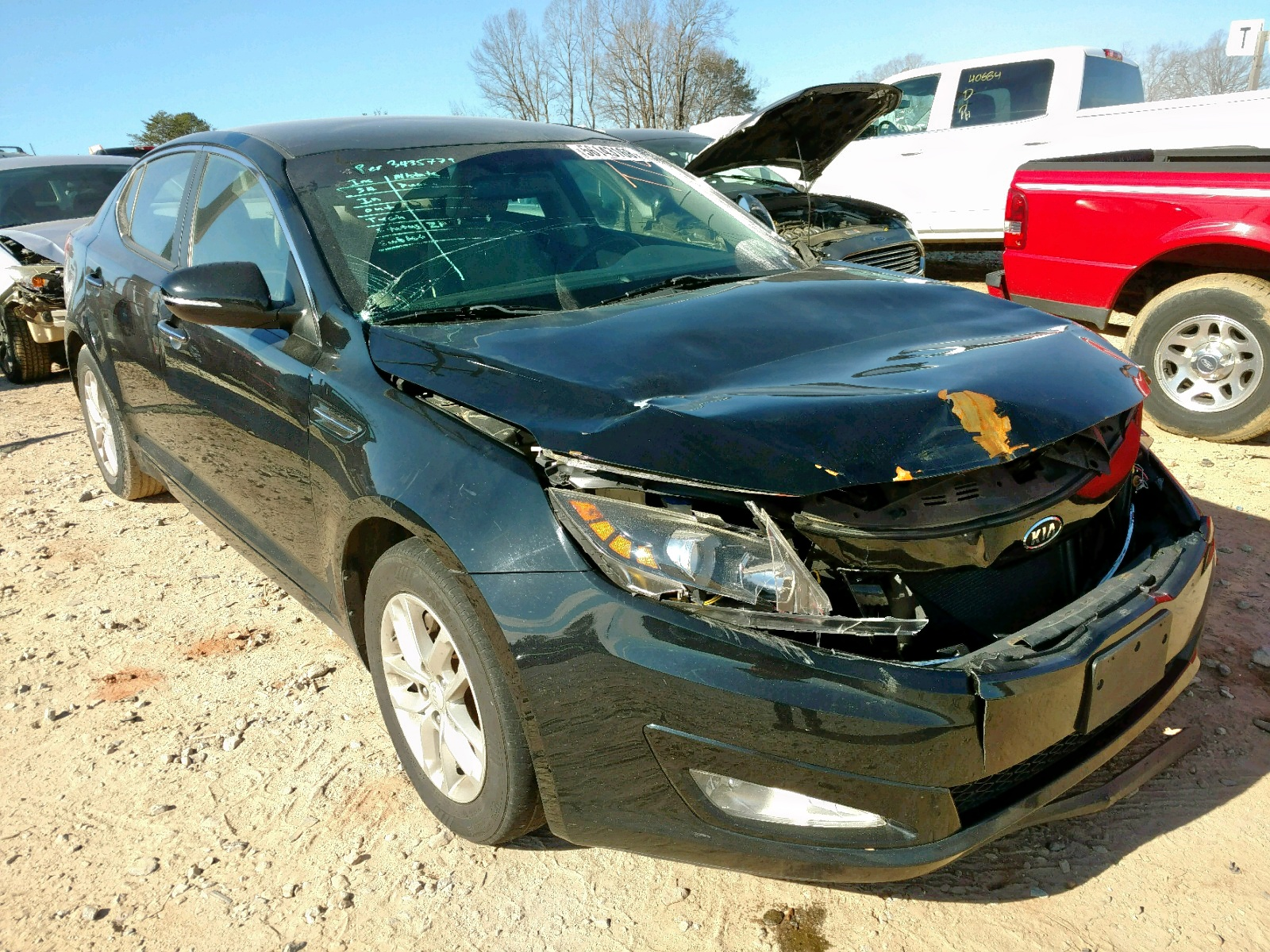 Salvage 2012 KIA OPTIMA LX for sale