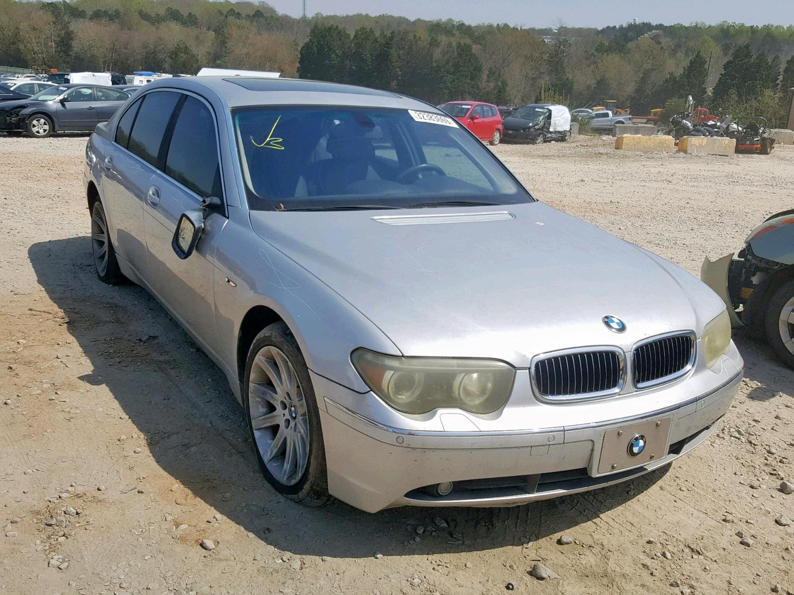 Salvage 2003 BMW 745 LI for sale