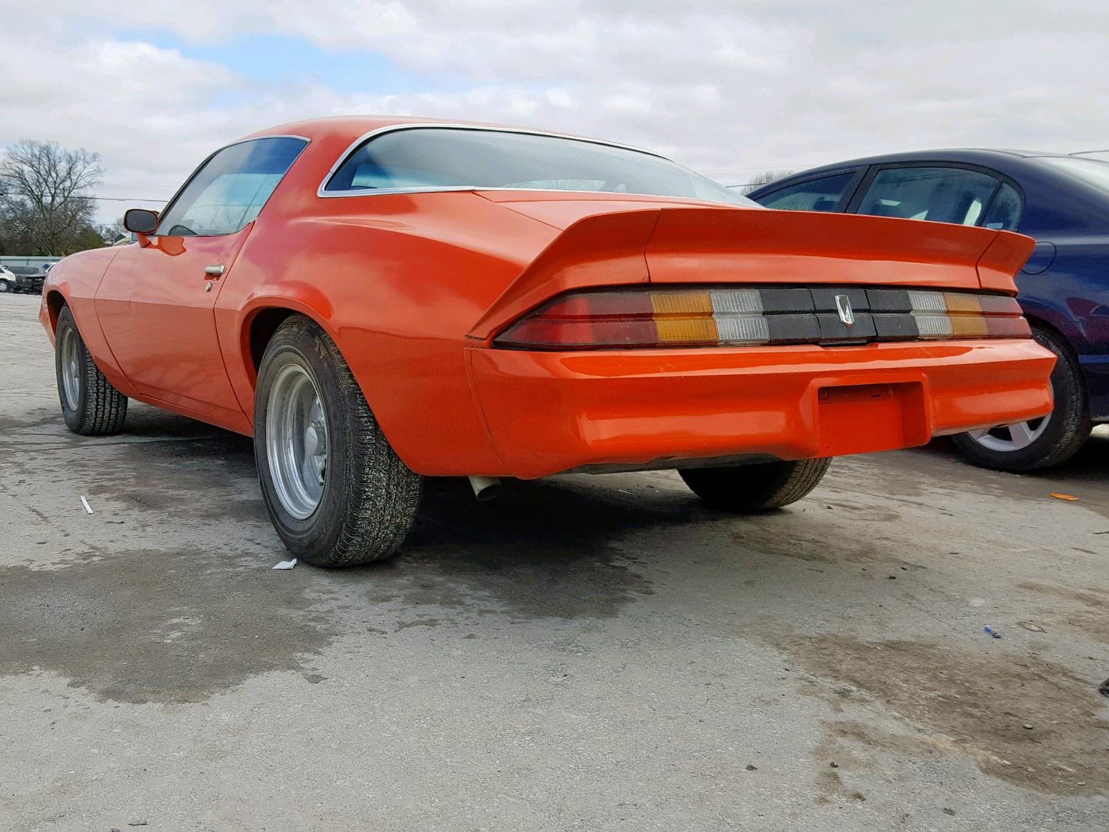 1980 Chevrolet Camaro In Tn Nashville 1p87kal539927