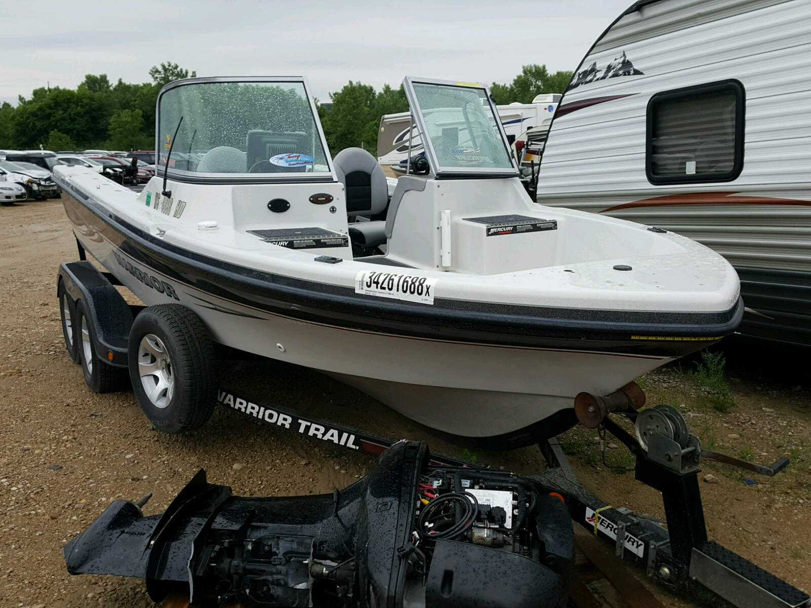 Salvage 2005 Weekend Warrior BOAT for sale