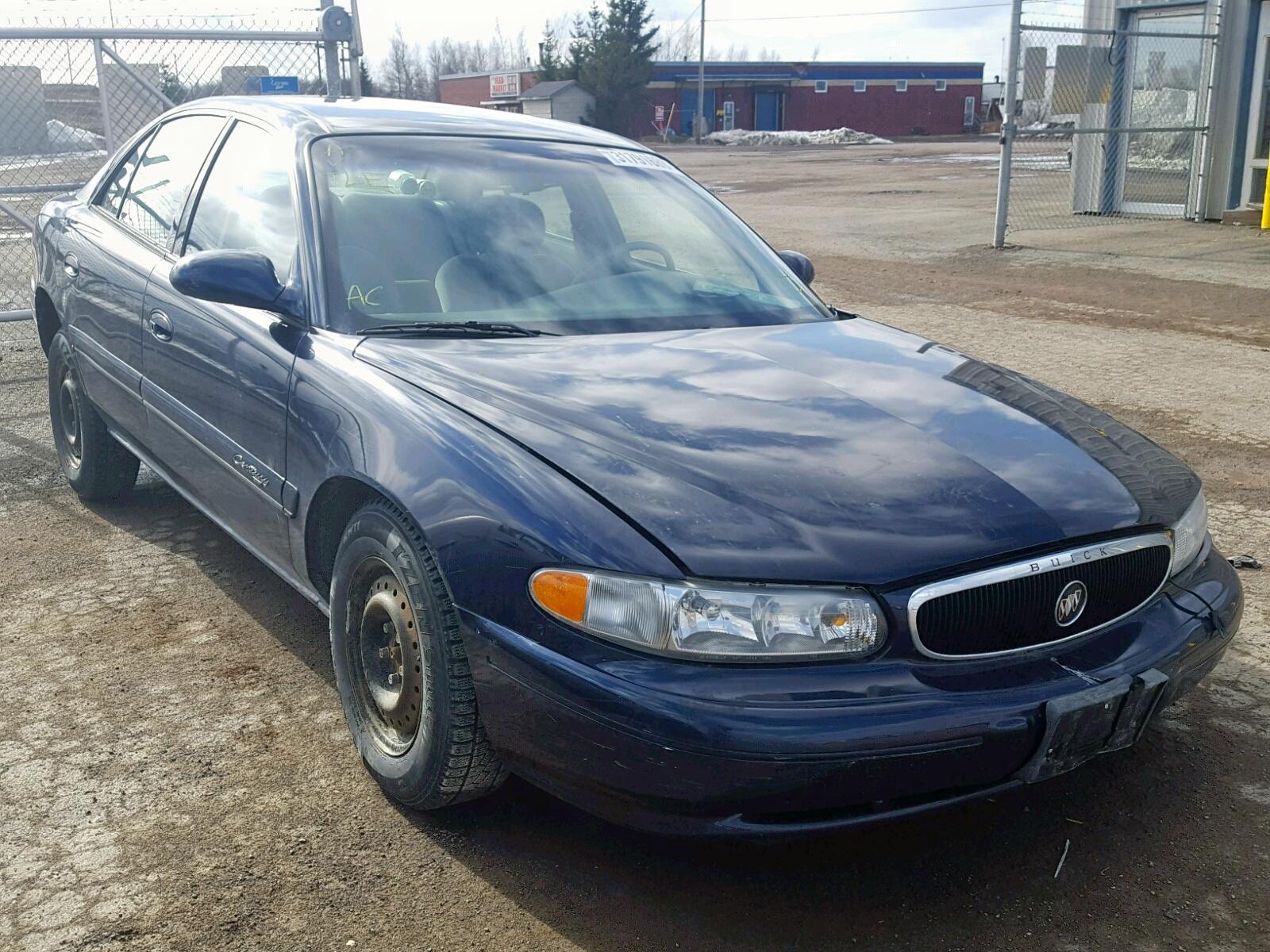 Salvage 2000 Buick CENTURY CU for sale