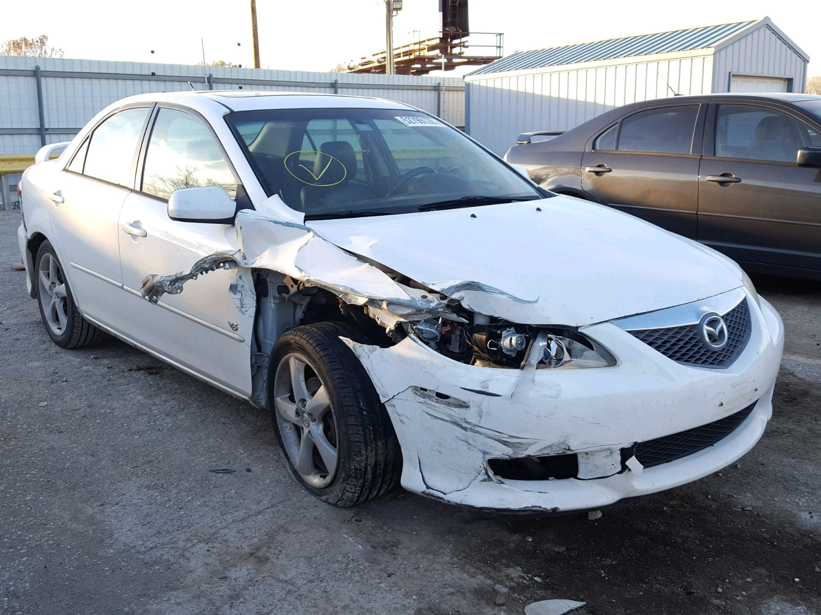 Salvage 2004 Mazda 6 S for sale