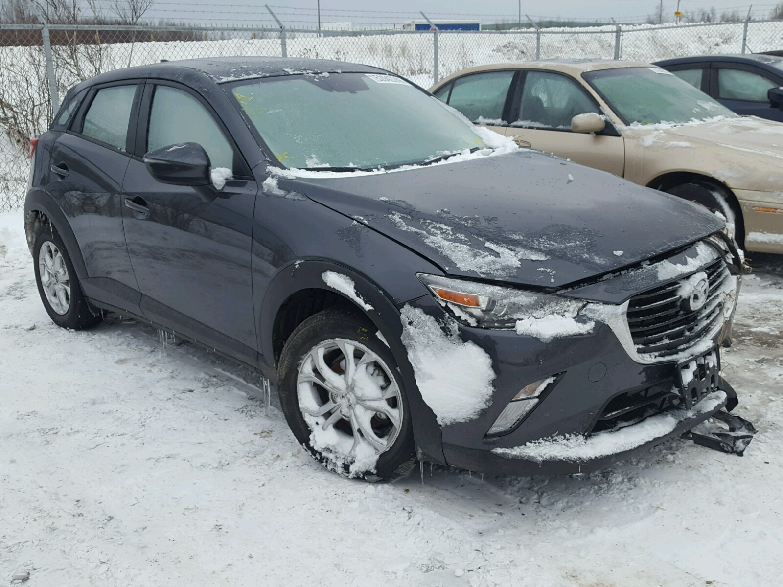 Salvage 2017 Mazda CX-3 TOURING for sale