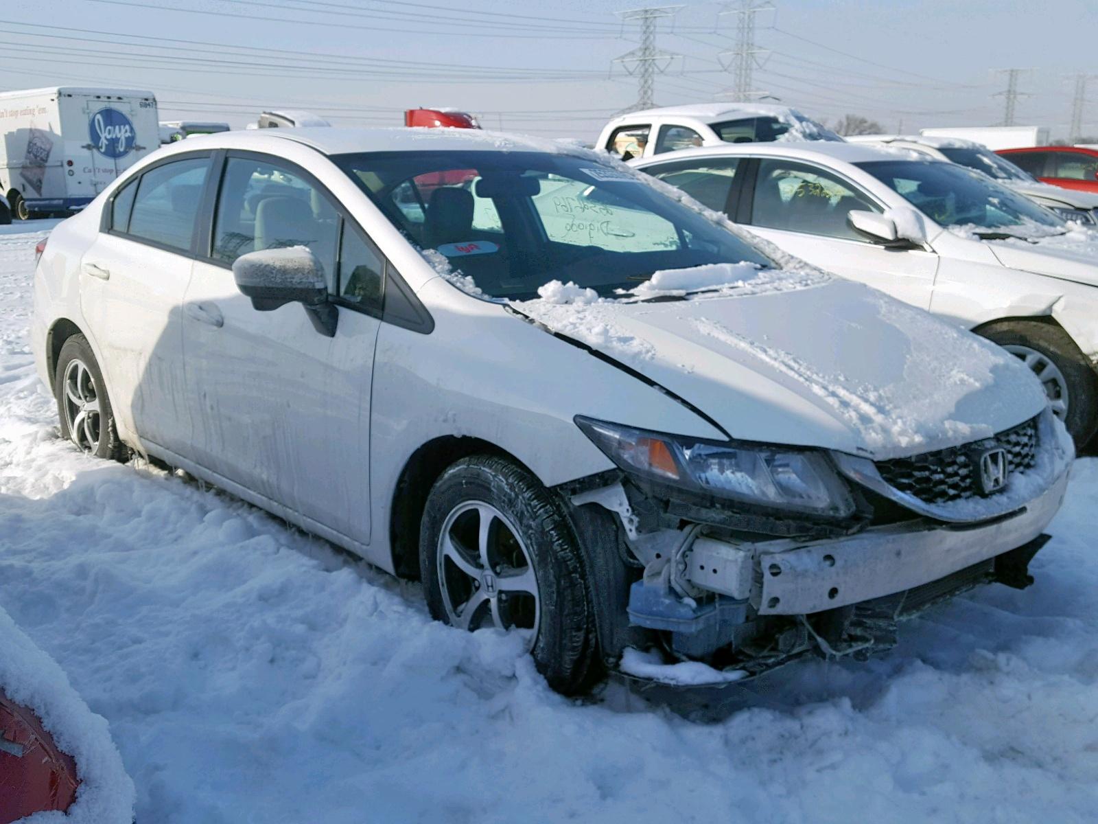 Salvage 2015 Honda CIVIC SE for sale