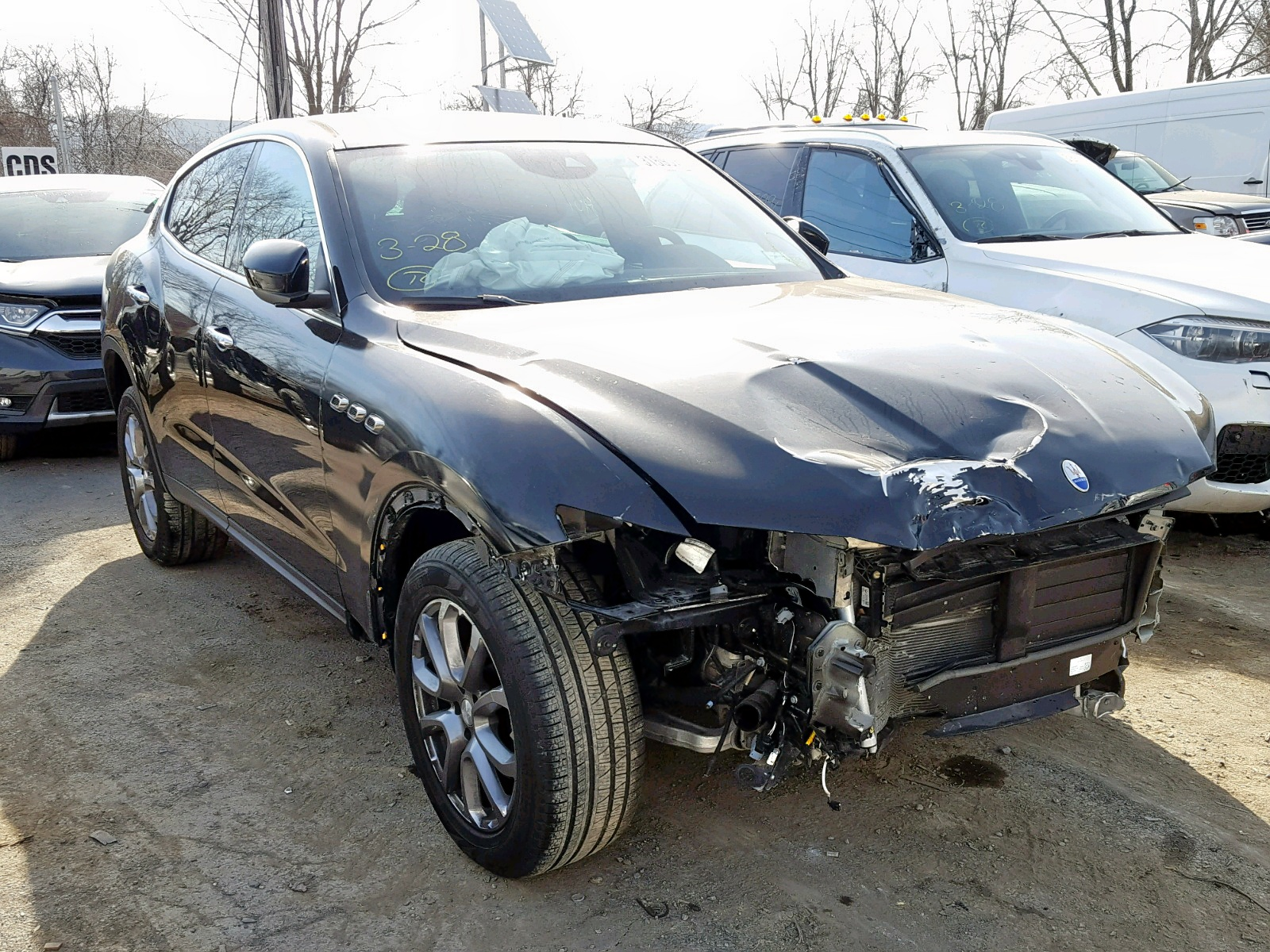 Salvage 2018 Maserati LEVANTE for sale